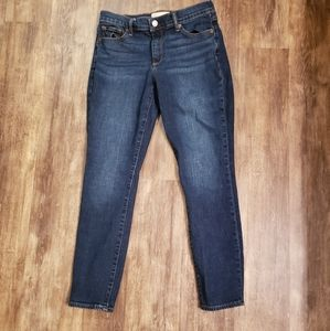 Gap 1969 True Skinny Dark Wash Jeans 27 Regular